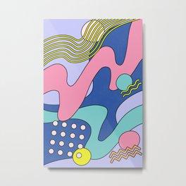 Waves 03 Metal Print