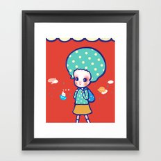 a little travel Framed Art Print