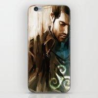 derek hale iPhone & iPod Skins featuring Derek Hale * Tyler Hoechlin  by AkiMao
