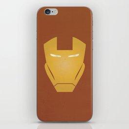 Minimalist IronMan iPhone Skin