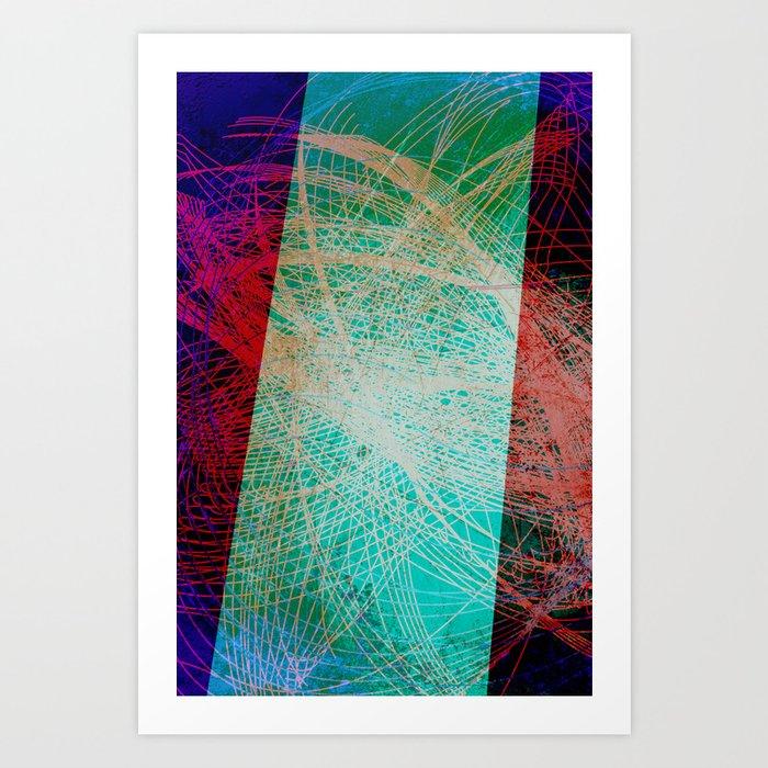 String Theory 01 Art Print
