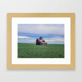 Grain Mill, Montana Framed Art Print