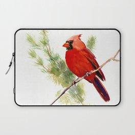 Cardinal Bird, Christmas decor gift Laptop Sleeve