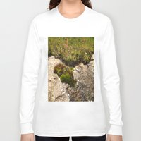 oasis Long Sleeve T-shirts featuring A Hill Country Oasis... by TexasArt