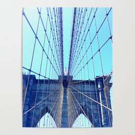 BROOKLYN BRIDGE - LIGHTER Poster