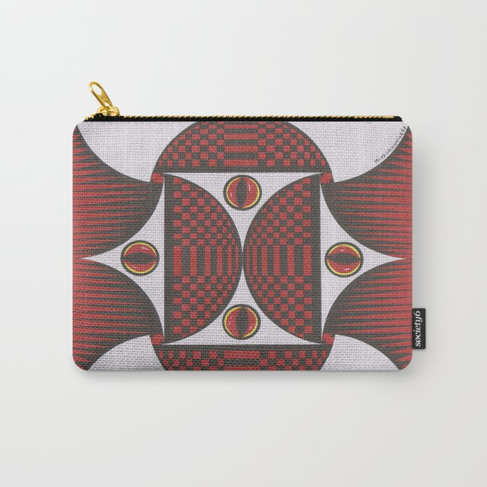 Keep My Eyes On You Carry-All Pouch