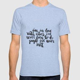 Inspiring quote // Brushlettering T-shirt