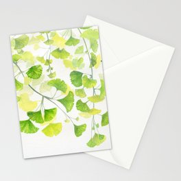 Ginkgo Watercolor  Stationery Cards