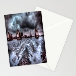 Through the Barrier HDR Stationery Cards