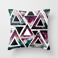 Galaxy Geometric Pattern 24 Throw Pillow