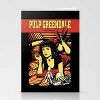 pulp Stationery Cards featuring Pulp Greendale by Shana-Lee