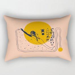 Walk like an Egyptian Rectangular Pillow