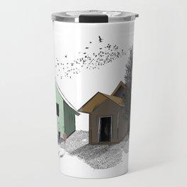 Farm Tree House  Travel Mug