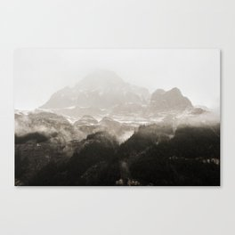 Rocky Mountain Mist Canvas Print