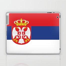 flag of Serbia-balkan,serbian,europe,yugoslavia, Pannonian,Belgrade,Novi Sad,nis,kragujevac Laptop & iPad Skin
