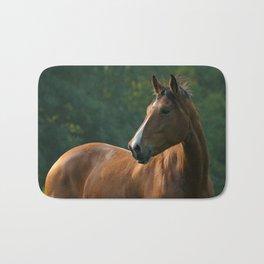 Bay horse Bath Mat