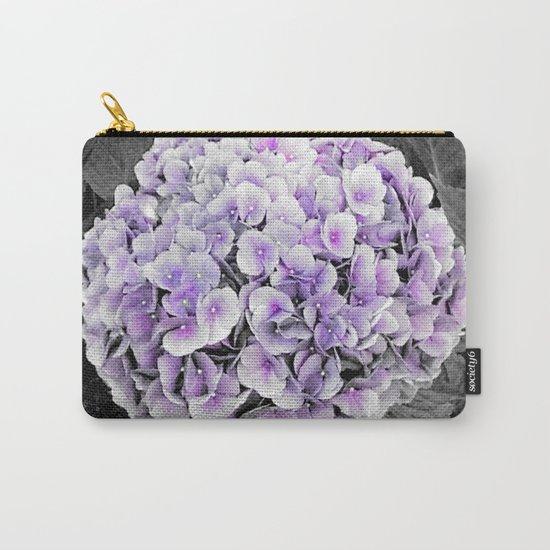 Flower | Flowers | BNW Purple Hydrangea Carry-All Pouch