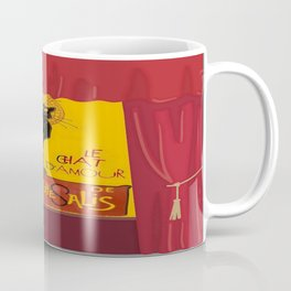 Le Chat Noir DAmour Theatre Stage Coffee Mug