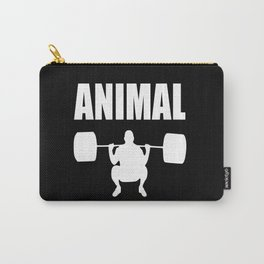 Animal gym quote Carry-All Pouch
