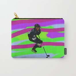 Taking Control- Ice Hockey Player & Puck Carry-All Pouch