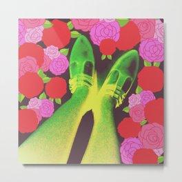 Flower Step Metal Print