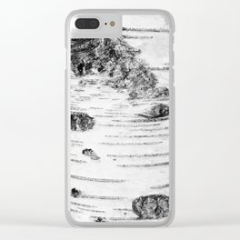 BIRCH Clear iPhone Case