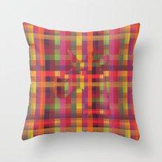 Pixelated Unicorn Throw Pillow