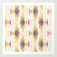 Melt Colors Series: Eye Art Print