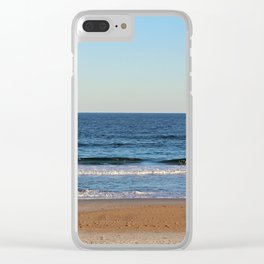 Along The Shore Clear iPhone Case