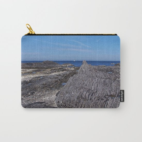 Rock Layers and the Sea Carry-All Pouch