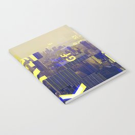 GLITCH CITY #00 NEW YORK Notebook