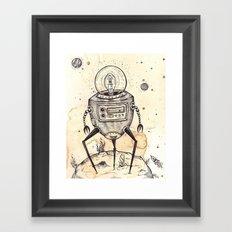 Big Bot Framed Art Print