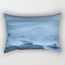 Visions of Blue Rectangular Pillow