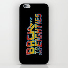 Back To The Eighties iPhone Skin