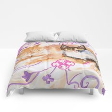Bonnie and Clyde Comforters