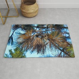 Whispering Pines in the Autumn Light Rug