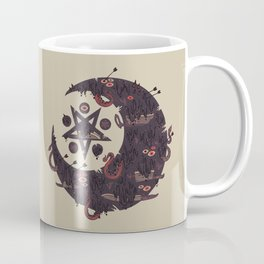 The Dark Moon Compels You to Fuck Shit Up Coffee Mug