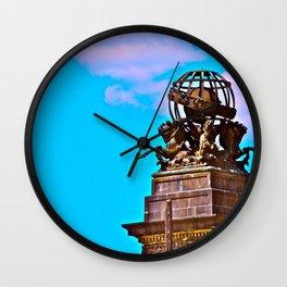 16th Street Horses Wall Clock