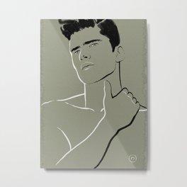 L'Homme 04 Metal Print