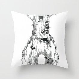 Tree Ent Throw Pillow