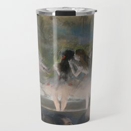 Ballet at the Paris Opéra, 1877, Edgar Degas Travel Mug