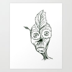 Planty Art Print