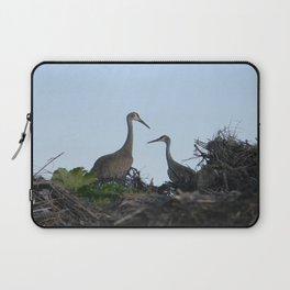 Sandhill Crane pair Laptop Sleeve