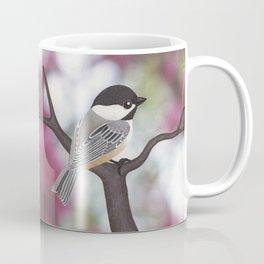 Wiley the black-capped chickadee Coffee Mug