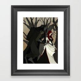 But I'm a Monster Framed Art Print