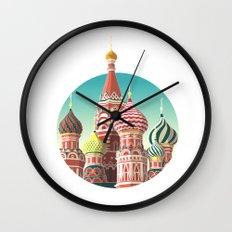 Saint Basil's Cathedral Wall Clock