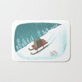 sled post Bath Mat