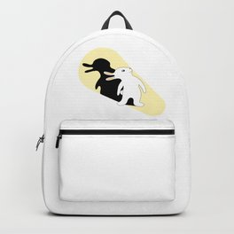 Rabbit Duck Shadow Puppet Backpack