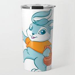 Easter bunny rabbit Travel Mug