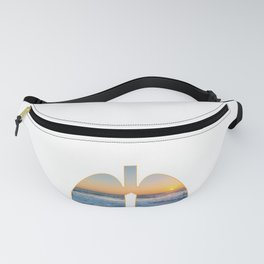 Lungs With Fresh Air In The OutDoors And The Pacific Oceanic design Fanny Pack